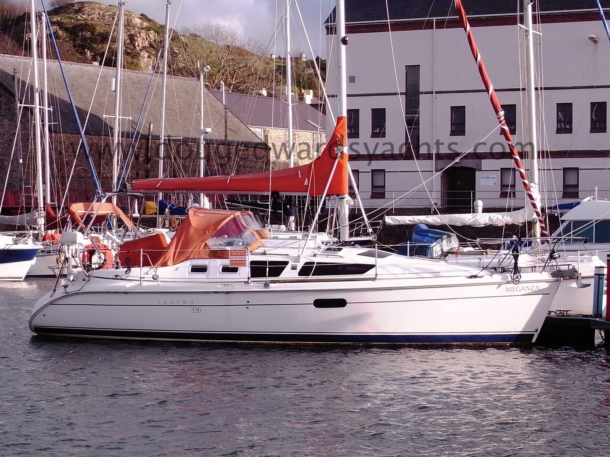 Hunter Legend 326 Bilge Keel Image