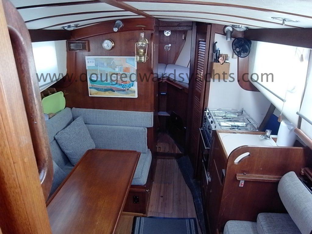 Fisher 25 Motor Sailer – Doug Edwards Yachts