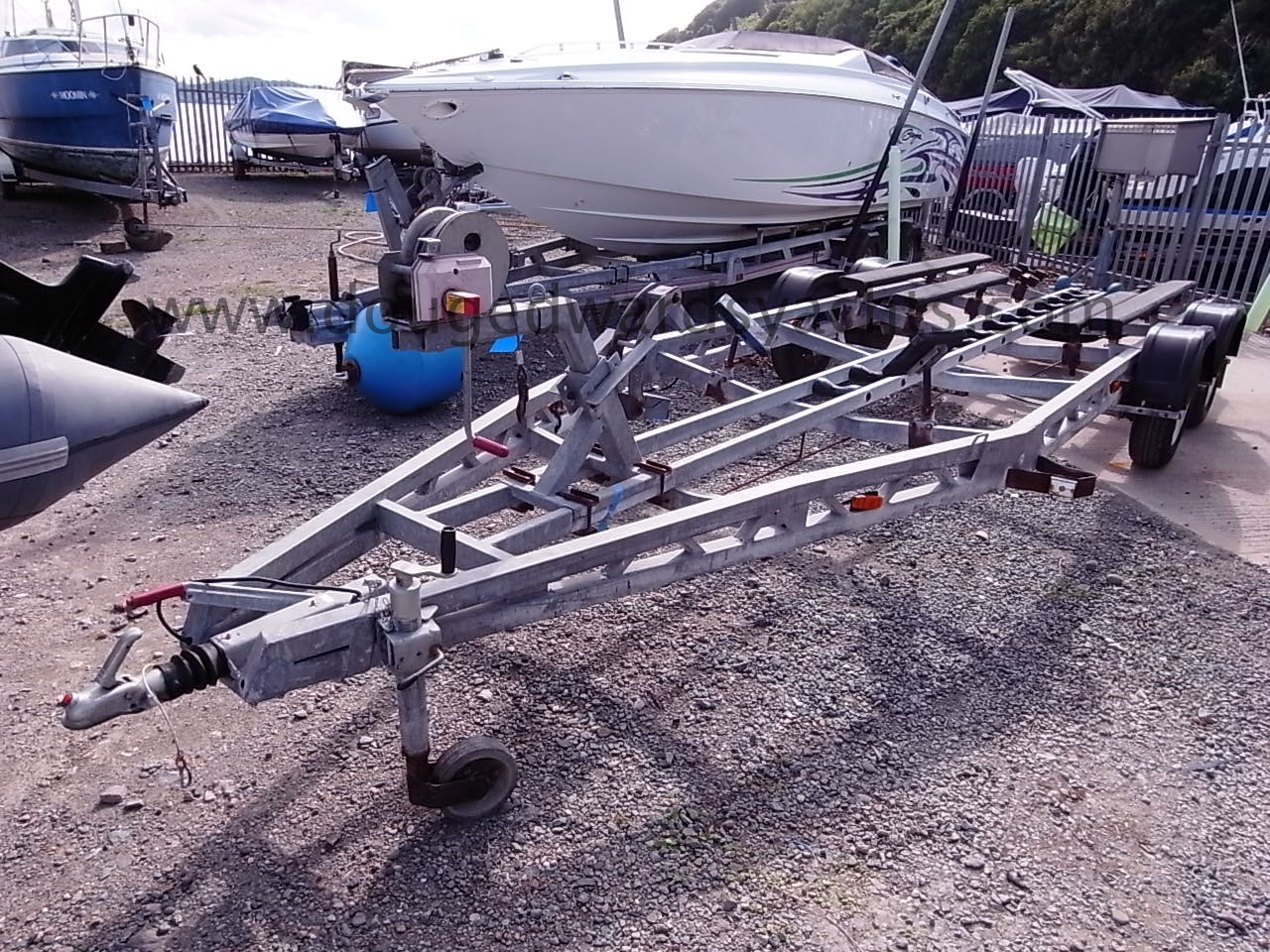 Twin Axle Launching Trailer Image