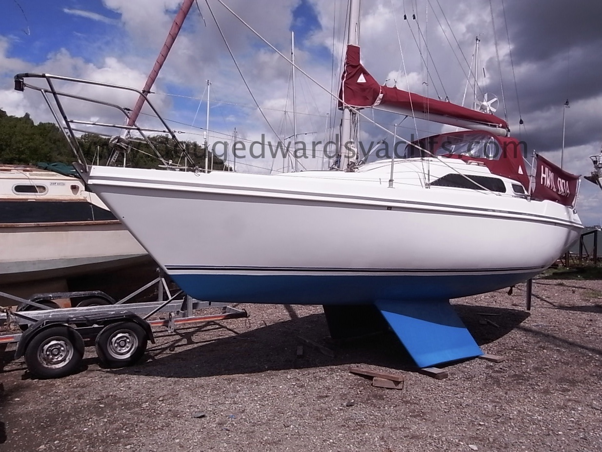 Hunter Horizon 27 Bilge Keel Image