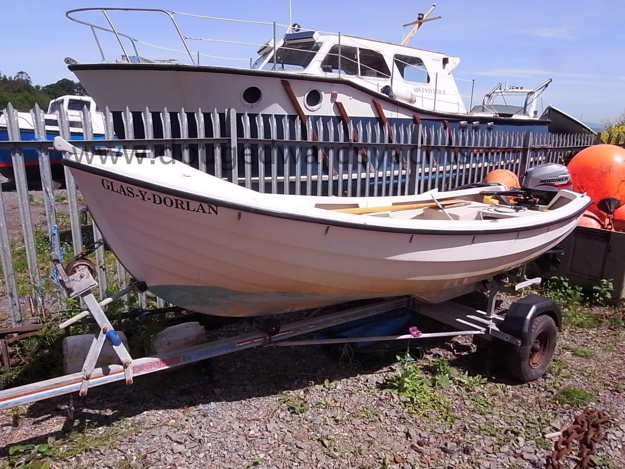 Arran 14 Bilge Keel Day Fishing Boat Image