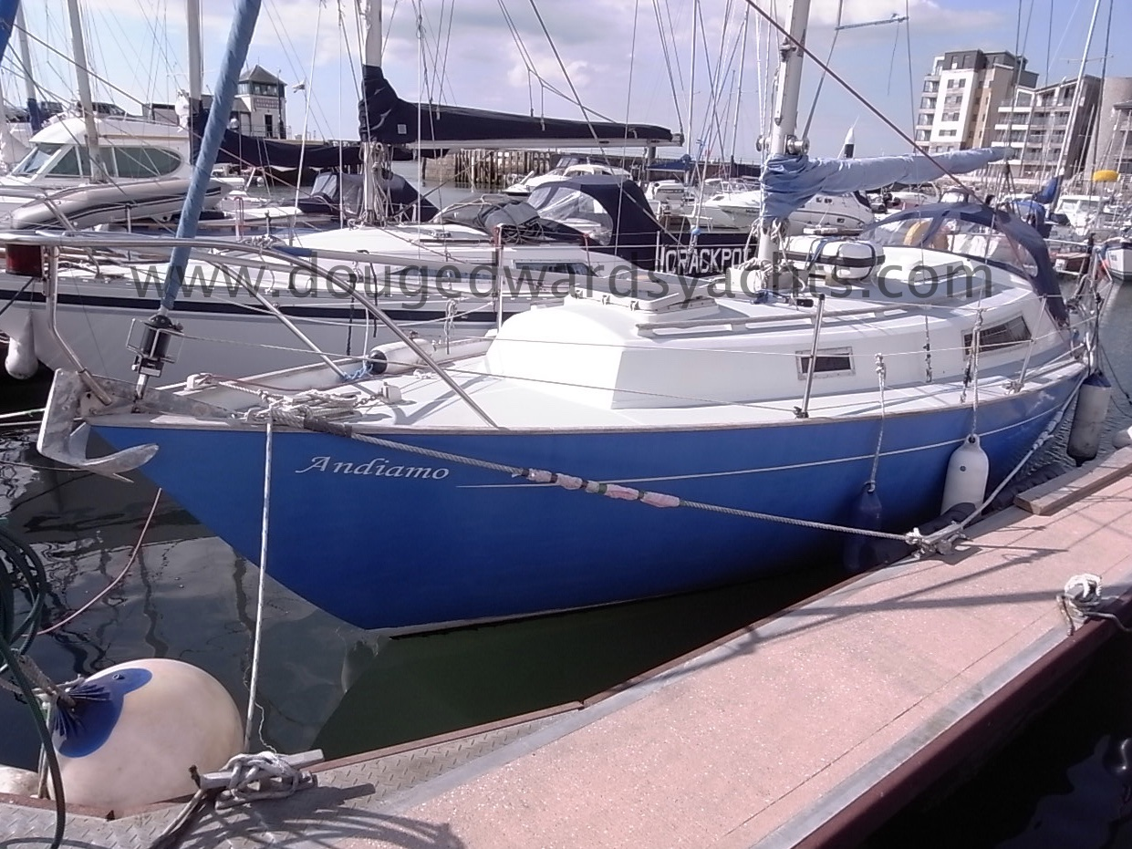 Halmatic 30 Long Keel Image